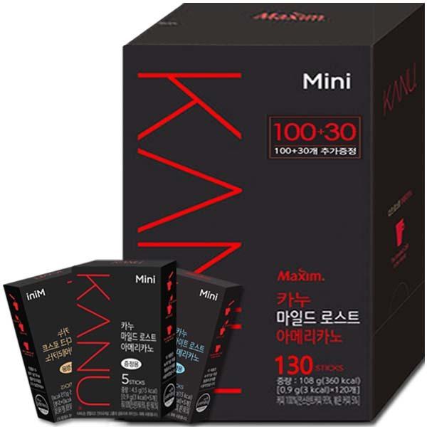 카누 미니  마일드 100T+20T : 공유의 커피~ 상품이미지