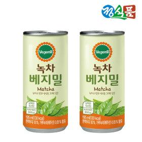 정식품  베지밀 녹차 두유(캔) 195mlx30캔