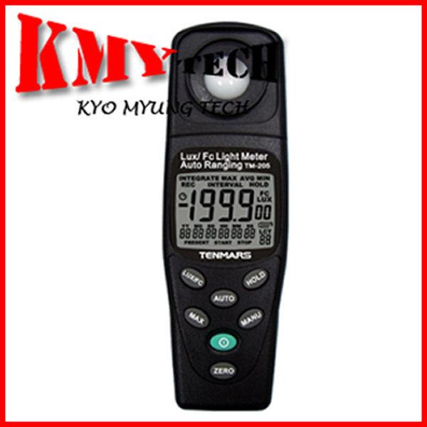 조도계/TM-205/TENMARS/0.01Lux/조도/디지털조도계 상품이미지