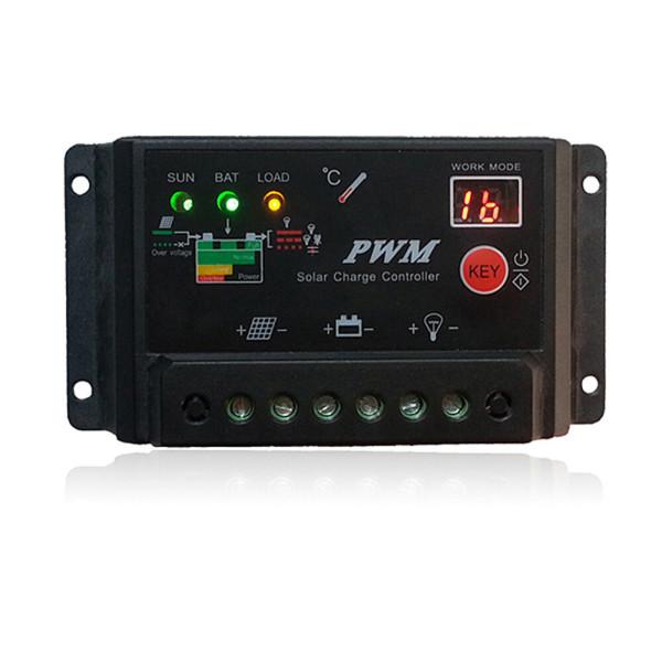 태양광충전컨트롤러 12/24V 10A PWM솔라 태양열발전기 상품이미지