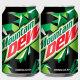 마운틴듀355ml 뚱캔 탄산음료수 캔음료