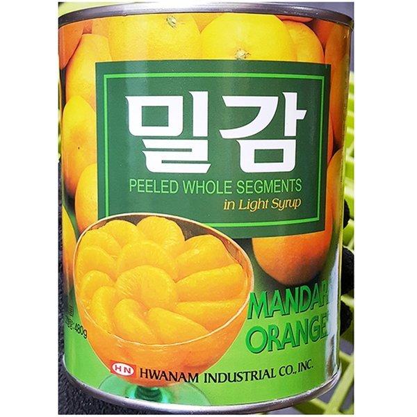 화남 밀감 850g / 귤 캔 통조림 화남산업 상품이미지