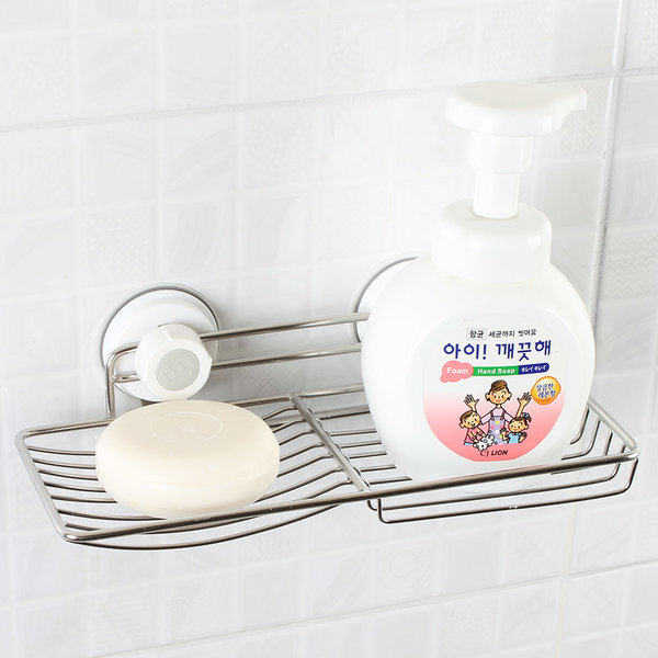 글라스터 스텐 2칸비누대/비누받침대/욕실용품 상품이미지
