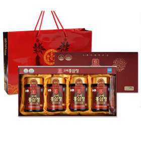 Korean 6 years red ginseng extract royal gold 250g x 4 bottles R/red ginseng/red ginseng extract