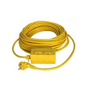 전기선/작업선/릴선 공업용 멀티탭 2구_20M(20호)
