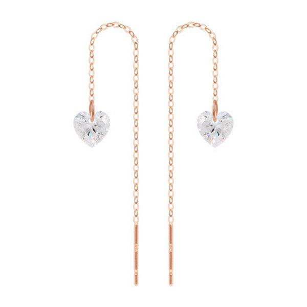 14K귀걸이 특가 롱귀걸이 롱피어싱 귀걸이클러치 LB02 상품이미지