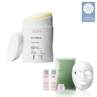 UV Shield Sun Stick+Moisturizing 5 kinds KIT+creamy foam 15ml x 2pcs