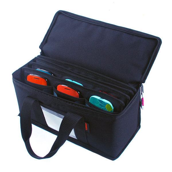 S형 휴대폰 24개 보관가방/핸드폰/수납가방/수거함 상품이미지