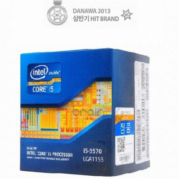 3570/인텔 코어i5-3세대 3570 (아이비브릿지)/특가 상품이미지