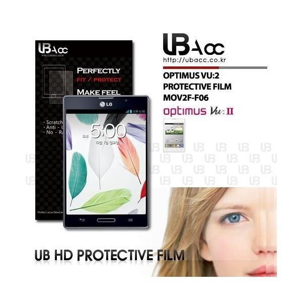 UBAcc 옵티머스 뷰2 보호필름 지문방지필름 투명 필름 상품이미지
