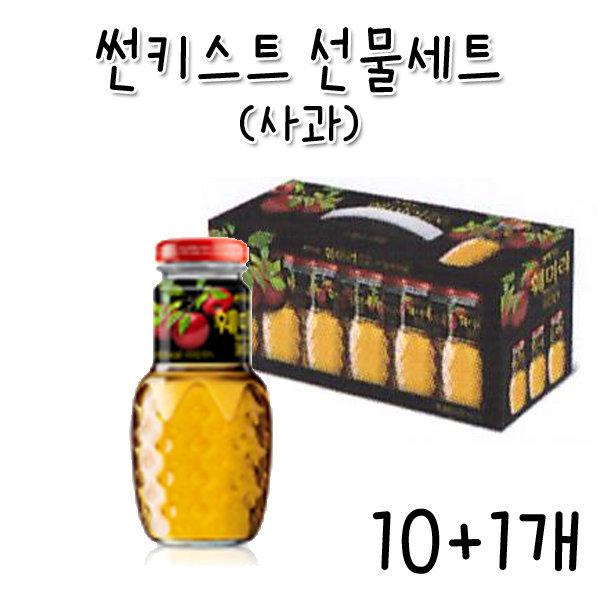 CC/썬키스트 훼미리 사과(180mlX12개)-10+1개 상품이미지