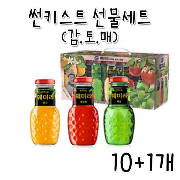CC/썬키스트 훼미리 감토매(180mlX12개)-10+1개 상품이미지
