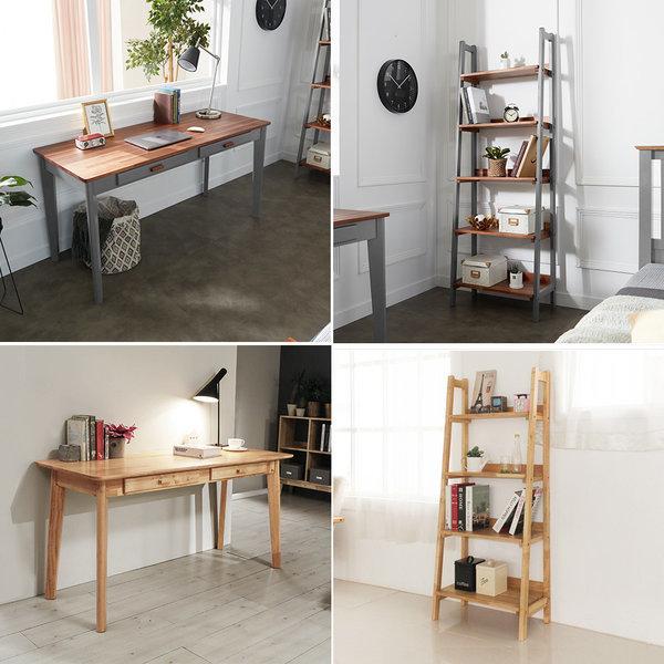 원목 책상 책장/테이블/의자/책꽂이/인테리어 상품이미지