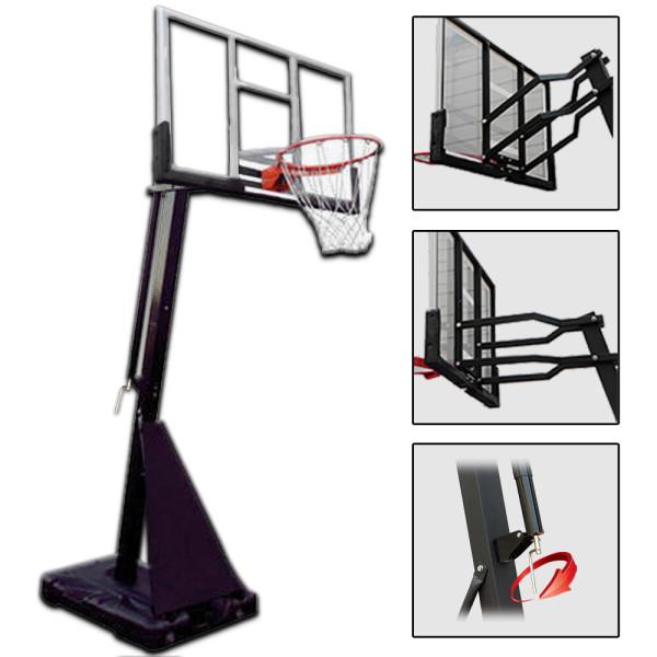 지아이엘/SBA-027 농구대/이동식/높이조절/농구링 상품이미지