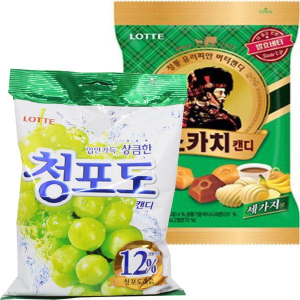 목캔디대용량 243gx3봉/사탕/말랑카우/애니타임/캔디 상품이미지