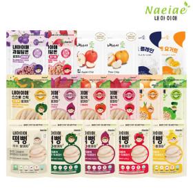 내아이애 유기농 쌀과자/떡뻥 셋트 모음(10+1/무배)