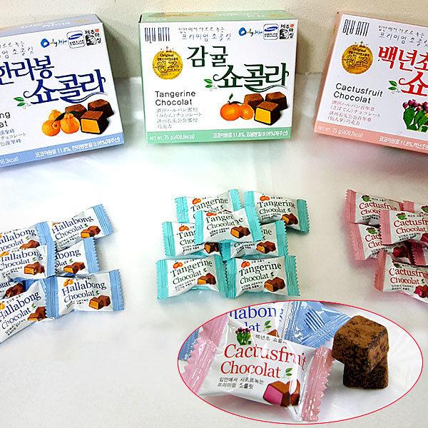 제주 쇼콜라 초콜릿 3세트 /제주초콜릿/ 제주 직배송 상품이미지