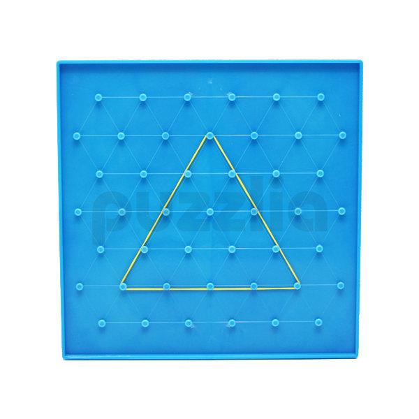 퍼즐리아 8인치 삼각 사각 양면지오보드 (45핀/7X7핀) 상품이미지