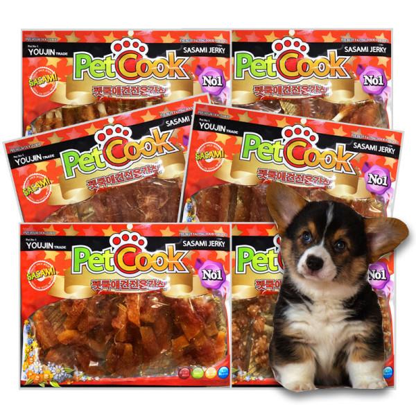 애견간식 6봉 1세트 무료배송 강아지간식 상품이미지