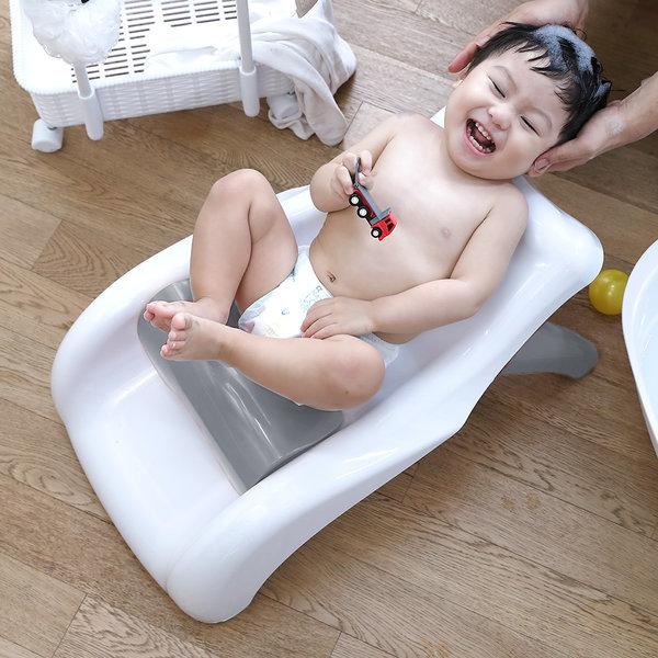 허그 샴푸의자 샴푸체어 곰팡이걱정없는 목욕의자 상품이미지