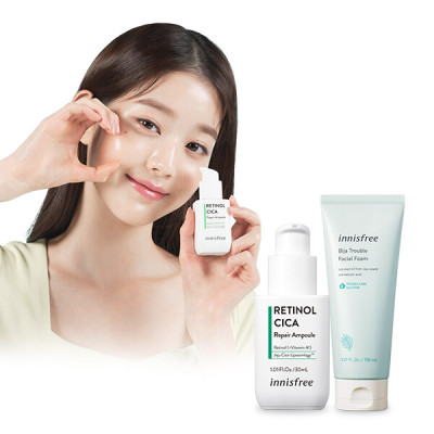 innisfree Cleansing Foam 1+1 Happy Gift Special Set Giveaway