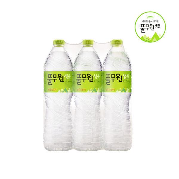 풀무원샘물 1.5Lx12 500ml 생수 물 워터 상품이미지