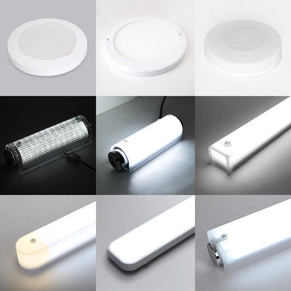 LED 욕실등 모음전/ 욕실 화장실 복도 베란다 조명 상품이미지