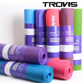 [TROVIS] Yoga mat / nontoxic / cushioned / anti-slip /