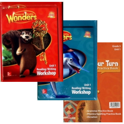 Wonders Package 1.1~3.6 선택(Reading Writing Workshop+Practice Book+CD)/원더스