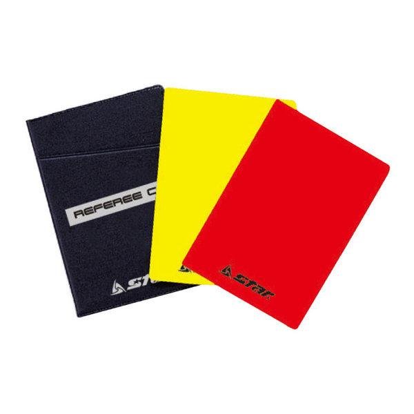 심판카드 축구경기 경고카드 옐로우카드 레드카드 상품이미지
