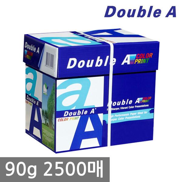 (현대Hmall)더블에이 A4 복사용지(A4용지) 90g 2500매 1BOX 상품이미지