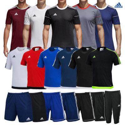 adidas new arrivals short-sleeve tee shorts urgently restocked