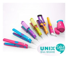 UNIX Take out mini hair iron collection / round iron / flat iron / multi iron / waver / dryer /
