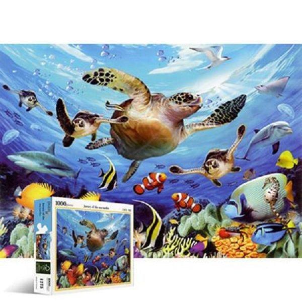직소퍼즐 - 1000조각 바다거북의 여행 (PL1275) 퍼즐 상품이미지