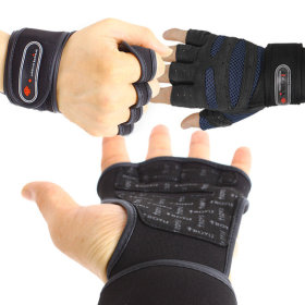 Trovis Sports health gloves / exercise / training / weight / wrist guards / support /