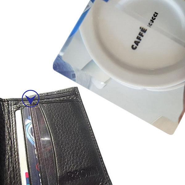 카드 명함 평면 돋보기 지갑안에쏙 휴대용 루페 상품이미지