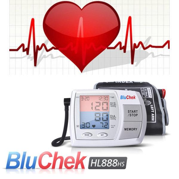 목표혈압 LED표시 블루첵 팔뚝형 전자혈압계 HL888HS 상품이미지