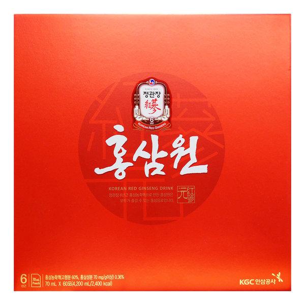정관장 홍삼원 70ml 60포 선물세트 명절선물 기념품 상품이미지