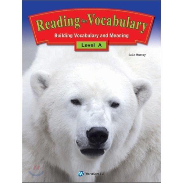 Reading for Vocabulary Level A  Jake Murray 상품이미지