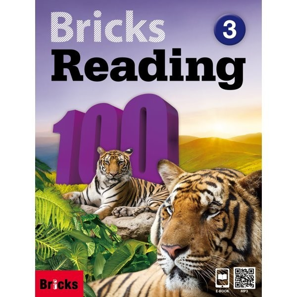 Bricks Reading 100 3 : 영어학습 1년 - 2년차 상품이미지
