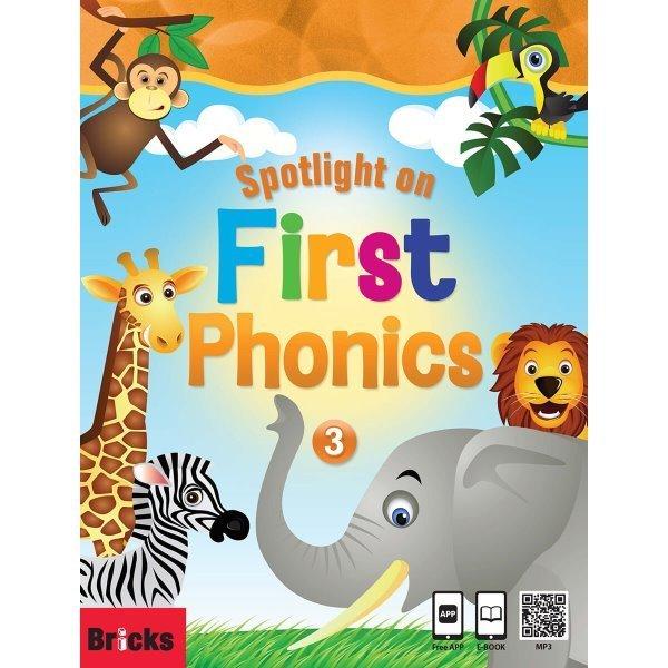 Spotlight on First Phonics 3 : Student Book + Storybook + Multi CD 상품이미지