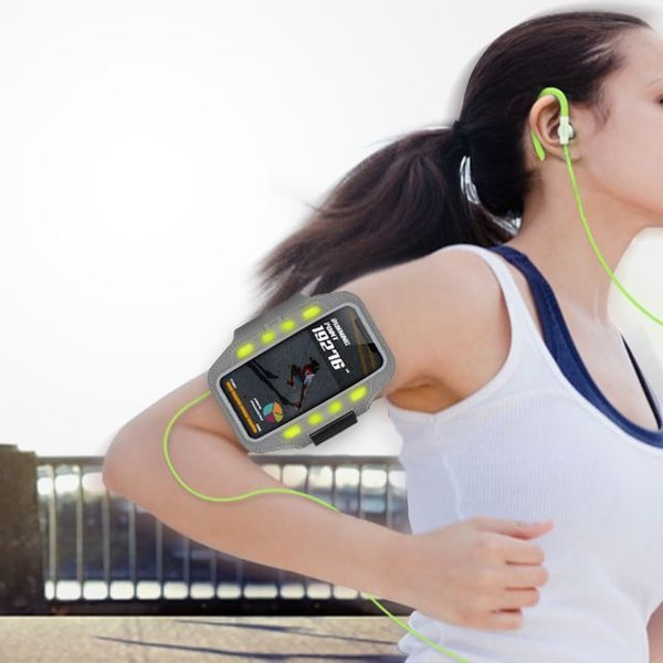 LED스마트폰 스포츠암밴드 5.8이하 투명창 팔뚝케이스 상품이미지