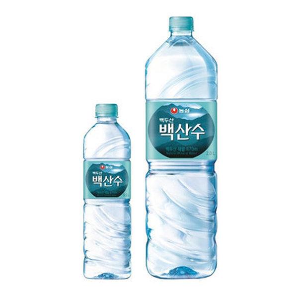 농심 백산수 2L/ 500ml/330ml  생수 물 상품이미지