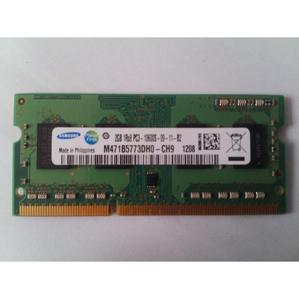 삼성 2g PC3-10600S DDR3-1333 노트북 메모리 1Rx8 상품이미지