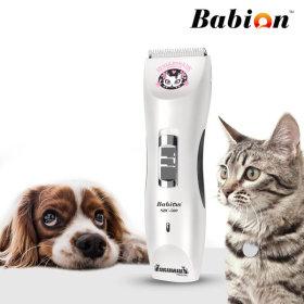 SBC-500 저소음 애견이발기 고양이 바리깡 화이트