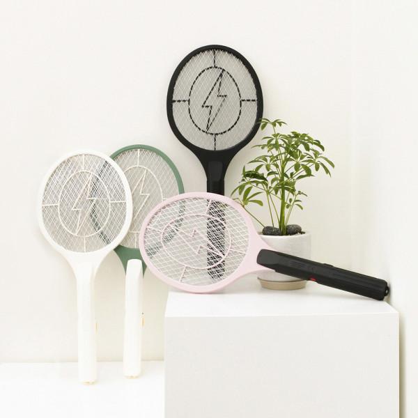벌레퇴치 휴대용 스마트 전기 모기채 2개 해충퇴치기 상품이미지