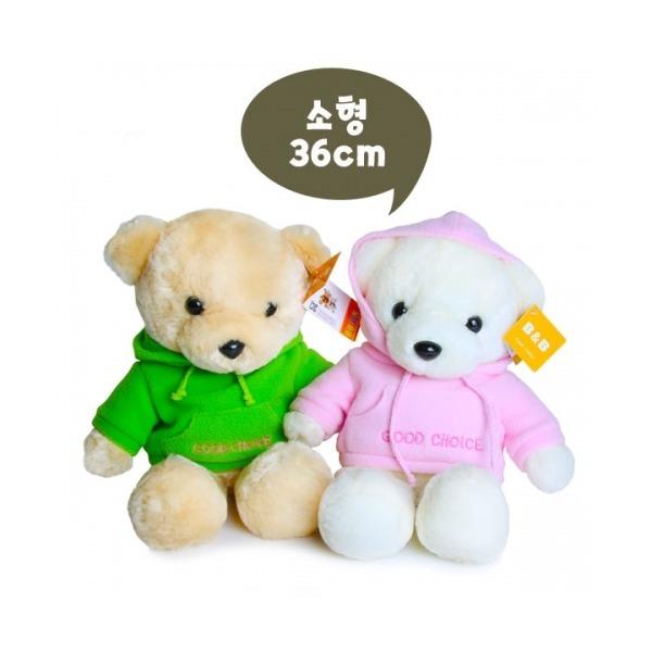 라스포후드베어 소형(36cm) /곰 테디베어 귀여운 인형 상품이미지
