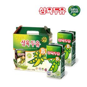 삼육두유 달콤한 B 190ml 16팩/건강음료 콩두유