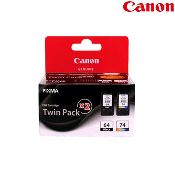 (트윈팩)(정품)캐논잉크 PG-64+CL-74 (TWIN)세트 E569 상품이미지