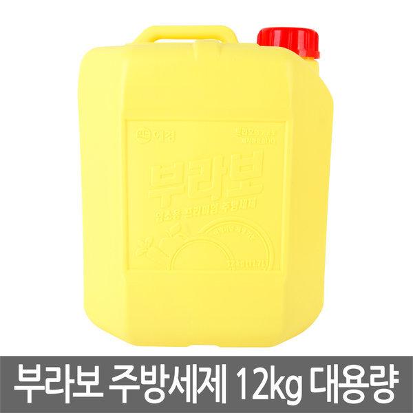 애경 부라보 주방세제 12kg 트리오 퐁퐁 업소용 상품이미지